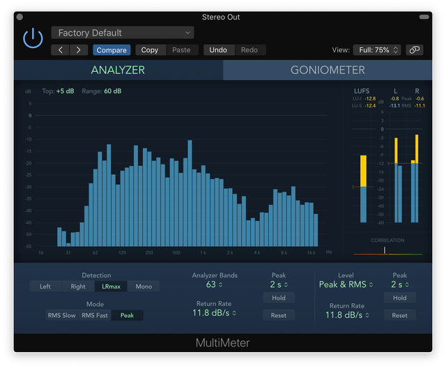 Find the BPM of any song easily – Logic Pro X Metering Tools