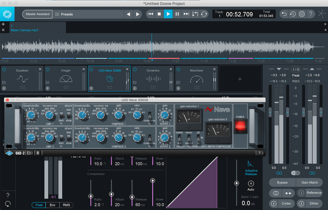Ozone with 3rd Party Plugin